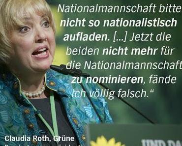 Claudia Roth: Wer gegen Erdogan ist, ist ein Nazi