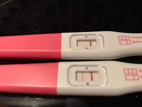 Schwangerschaftstest ganz leicht positiver Schwangerschaftsfrühtest: Ab