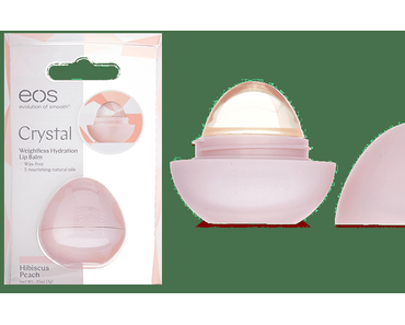 eos Crystal Hibiscus Peach Lip Balm