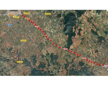 Schnellstrasse Llucmajor  Campos wird ausgebaut