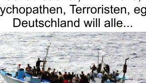 Deutschland, Schlaraffenland Wirtschaftsflüchtlinge Politiker Volk dafür schamlos ausnutzen
