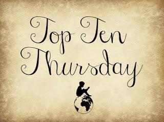 Top Ten Thursday #40