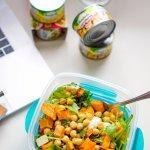 Süßkartoffelsalat – Perfekt zum Mitnehmen