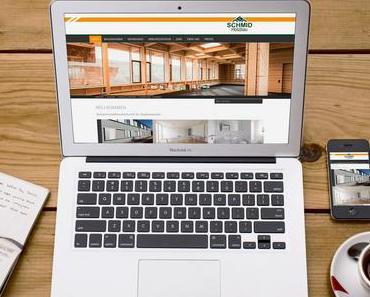 Einfach professionell minimalistisches Webdesign