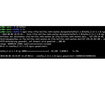 Ist eine Kafka installation auf einen Raspberry Pi Zero W möglich?