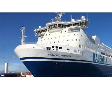 """Baleària verbindet mit der Fähre """"Rosalind Franklin"""" Barcelona und Palma"""