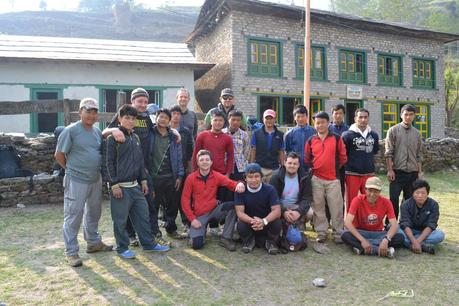 nepal-team backpacker reise
