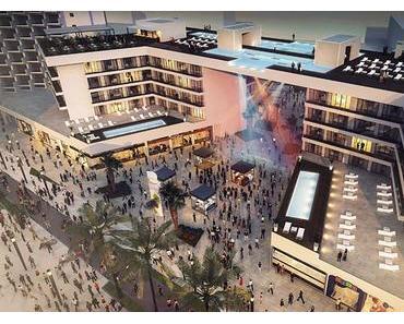 Mallorca mit neuer Pool- und Shopping-Attraktion