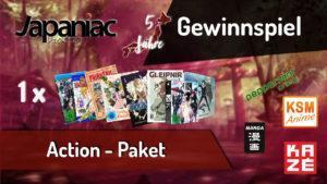 Gewinnspiel: Jahres Gewinnspiel Teil (Action Paket)