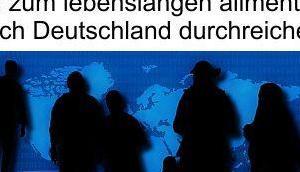 """Ohne sinnige nützende Regelungen kann keine """"Europäische Lösung"""" Migrationspolitik geben, Totalversagen heißt bestimmende Richtung"""