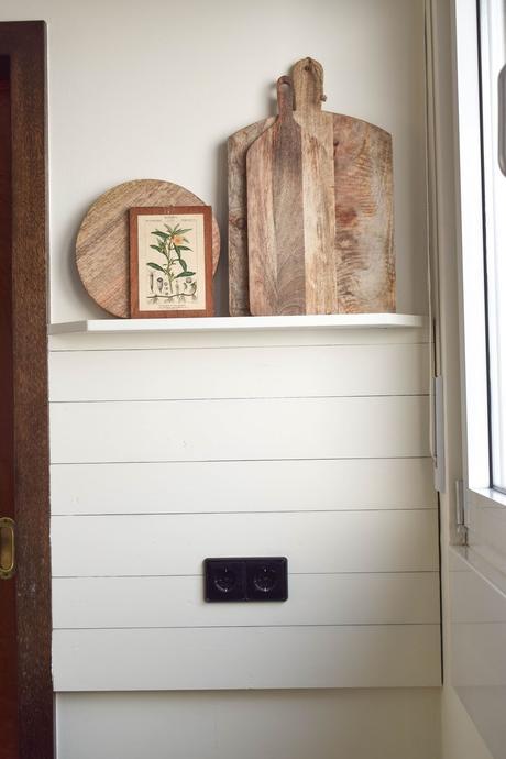 DIY Wandregal und erste Einblicke in die neue Küche