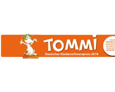 Einreichphase für deutschen Kindersoftwarepreis TOMMI gestartet