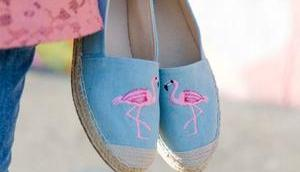 Sommer Outfit kühlere Tage Pink Flamingo