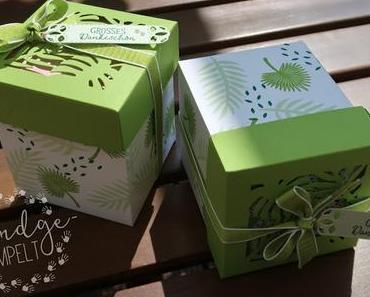Tropische Geschenkbox