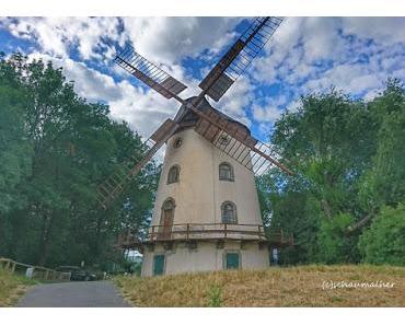 Auf dem Rad zur Gohliser Windmühle