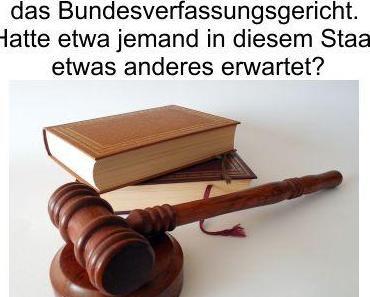 Die GEZ Zwangsgebühren sind mit dem Grundgesetz vereinbar, anders war das Urteil des Bundesverfassungsgericht auch nicht zu erwarten