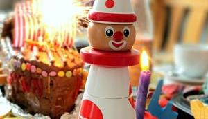 Geburtstag haben toll! inkl. Rezept Piratenschiff-Torte