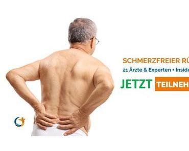 Frei von Rückenschmerzen (auch ohne Yoga) – der Online-Kongress