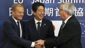 Japan und die EU bauen freien Handel aus