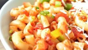 Pasta all'americana: wär's American Chop Suey?