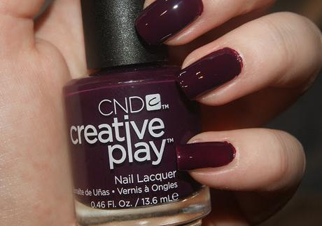 [NOTD] CND Creative Play Naughty or Vice
