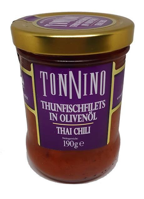 Tonnino - Thunfischfilets in Olivenöl - Thai Chili