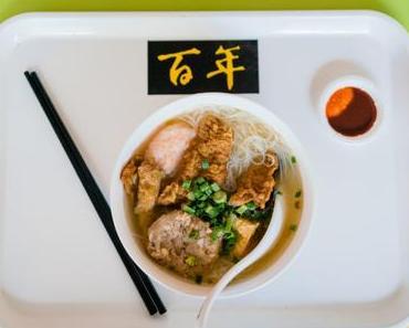 Hawker Center und das Essen in Singapur