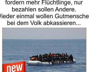Immer rein ins Land: Die NRW Städte Köln, Düsseldorf und Bonn möchten mehr Flüchtlinge aufnehmen, wenn der Bund es bezahlt