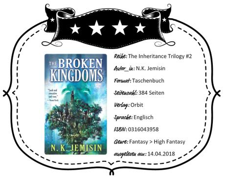 N.K. Jemisin – The Broken Kingdoms