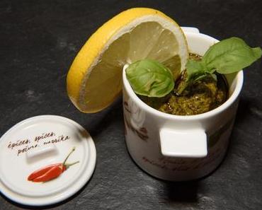 Zitronen-Nuss-Pesto (lacto-vegetarisch)