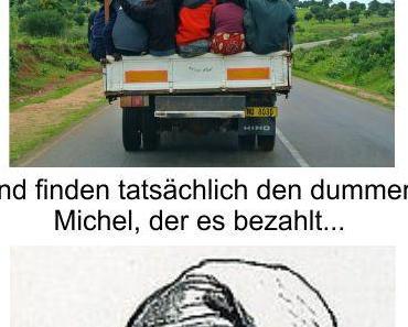 Grüne Politik treibt Deutschland in den Abgrund, verteuert absichtlich jeden Lebensunterhalt und fördert die Masseneinwanderung von allen Armutsmigranten