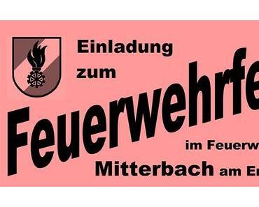 Termintipp: Feuerwehrfest in Mitterbach 2018