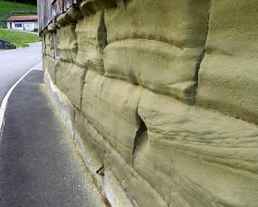 Sandstein, alles Sandstein