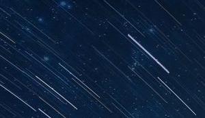 Maximum Sternschnuppenschauers Perseiden