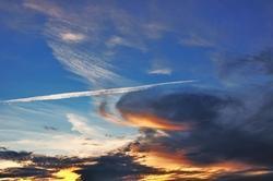 Ein Himmel und der Wochenstart