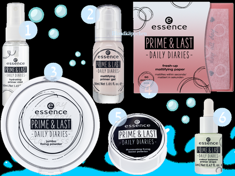"essence ""prime & last daily diaries"" trend edition"