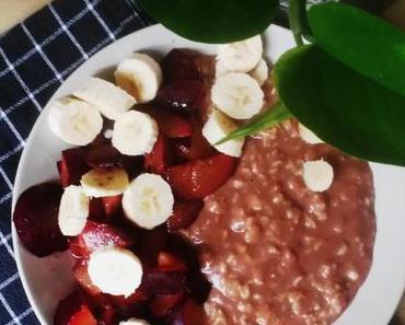 Schoko Pudding Oats [vegan]