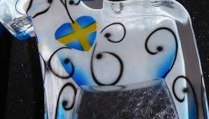 Einfach schön Dalapferd Nybro Crystal Schweden