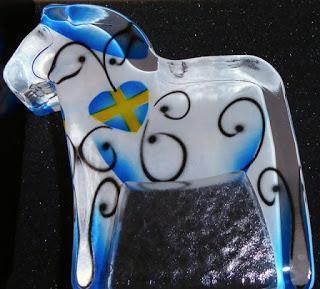 Einfach schön - Das Dalapferd von Nybro Crystal aus Schweden