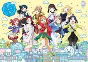 Fehlende Charakterdesigns Love Live! Sunshine!!! Movie veröffentlicht!
