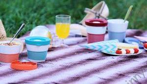 cupits wird Essen unterwegs viel einfacher #Kahla #Snackdeckel #Picknick