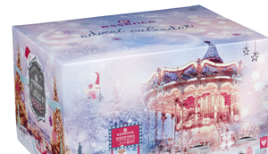 """welcome xmas market"" Adventskalender Weihnachten essence 2018"