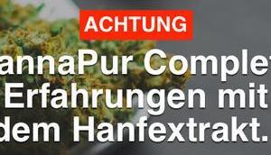 ACHTUNG! CannaPur Complete Erfahrungen Hanfextrakt…