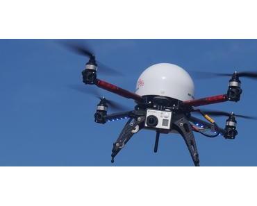Mit Drohnen auf der Suche nach Schwarzbauten