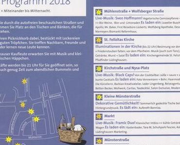 Am Freitag ist wieder Sternenpicknick in Lüdinghausen
