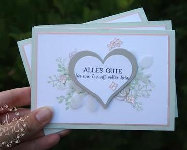 Hochzeitsglückwünsche ganz zart