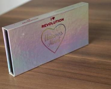I Heart Revolution Unicorns Heart Eyeshadow Palette Review und Swatches