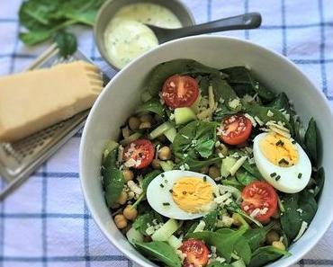 Spätsommer-Feeling: Ein Kichererbsen-Salat