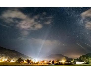 Bild der Woche: Sternenhimmel über Mariazell