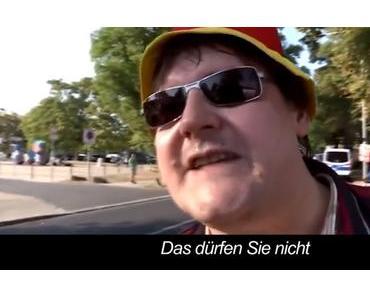 LKA Sachsen feat. Hutbürger – Ins Gesicht gefilmt: Straftat (Video)